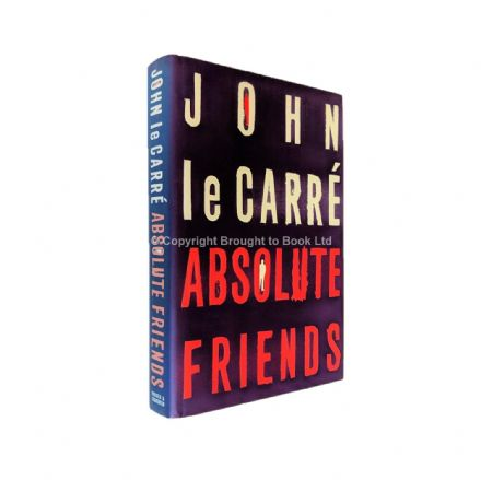 Absolute Friends Signed by John le Carré 1st Edition Hodder & Stoughton 2004